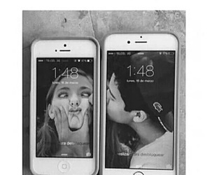 couple, inlove, and iphone image