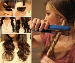 hair, elia, and locks image