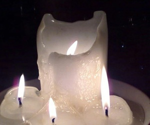 aesthetic, pale, and candles image