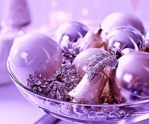 balls, lovely, and purple image