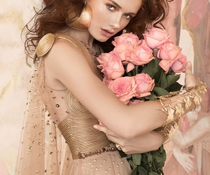 feminine and romantic image