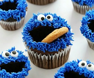 food, blue, and sweet image