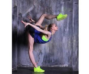 dance, girl, and gymnastics image