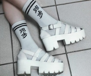 'shoes', 'aesthetic', and 'white' image