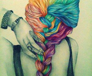 beauty, braids, and life image