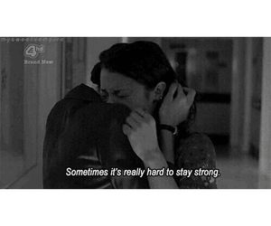 sad, quote, and sometimes image