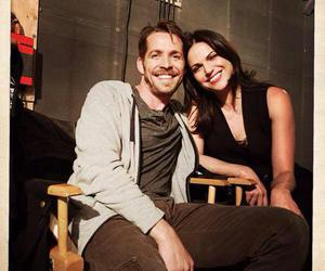lana parrilla, sean maguire, and ️ouat image