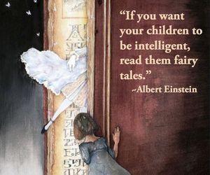 book, Albert Einstein, and fairy tale image