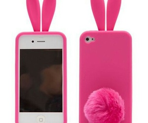 bunny, cute, and pink image