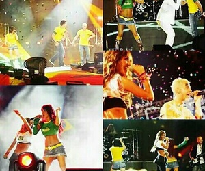 Anahi, poncho, and RBD image