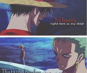 one piece, zoro, and anime image