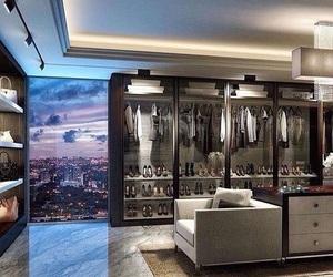 luxury, home, and closet image