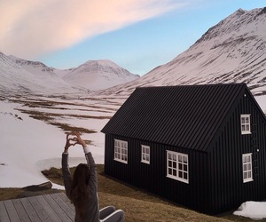 iceland, mountain, and traveling image