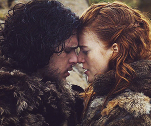 jon snow, ygritte, and a song of ice and fire image