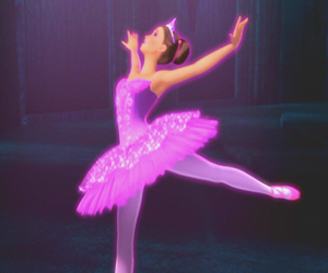 ballerina, ballet, and barbie image