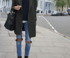 fashion, coat, and street image