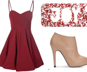 case, dress, and Polyvore image