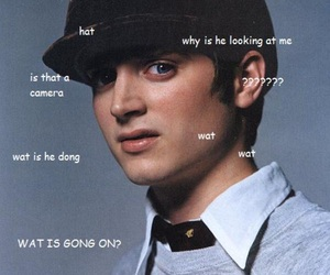 elijah wood, tumblr, and lol wtf is this image
