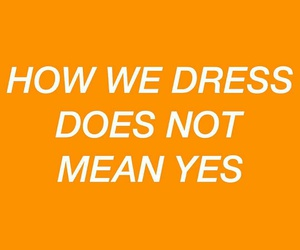 aesthetic, feminism, and orange image