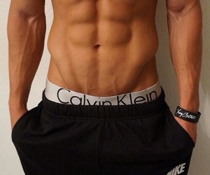 boy and abs $six pack image