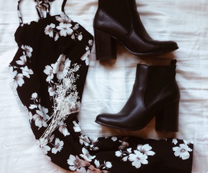 boho, booties, and boots image