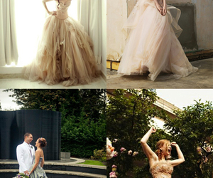 beautiful, prom dresses, and wedding dresses image