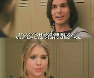 pll, hanna and caleb, and love <3 <3 <3 image