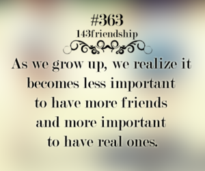 friendship, grow up, and quote image