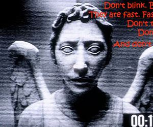 doctor who, dont blink, and tenth doctor image