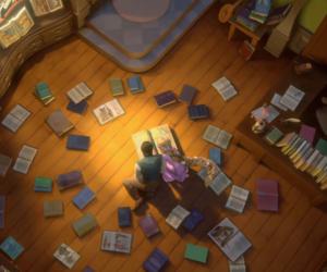 tangled, disney, and books image