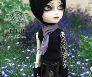 doll, heartagram, and him image