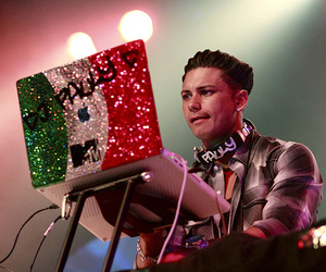 pauly d, dj, and jersey shore image