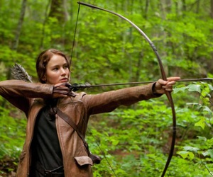 hunger games, katniss everdeen, and the hunger games image