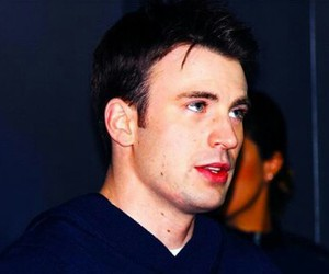 actor, beautiful, and chris evans image