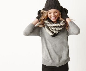cable knit, fall, and fashion image