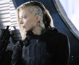 Natalie Dormer, the hunger games, and mockingjay image