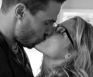 arrow, couple, and kiss image
