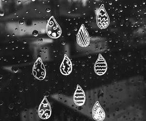 rain and drop image