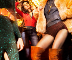 70s, glitter, and dancing image
