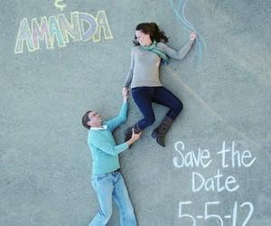 couple, creative, and invitation image