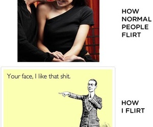 funny, flirt, and lol image
