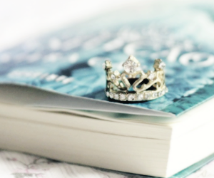 book, the selection, and crown image