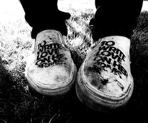 shoes, twloha, and to write love on her arms image