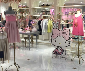 hello kitty, HK, and loja image