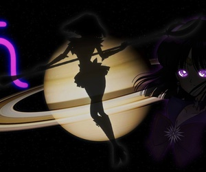 sailor moon, sailor moon crystal, and sailor saturn image