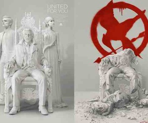 mockingjay and the hunger games image