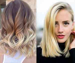 beauty, blond hair, and curly image