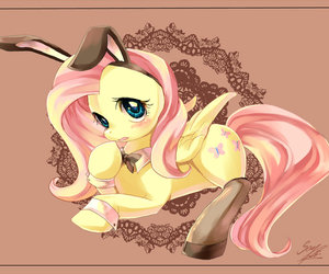 MLP and fluttershy image