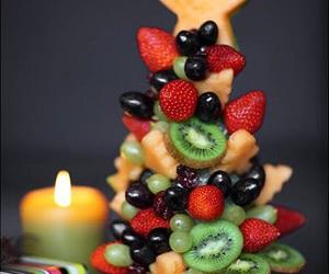 fruit, christmas, and food image