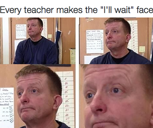 funny, teacher, and hilarious image